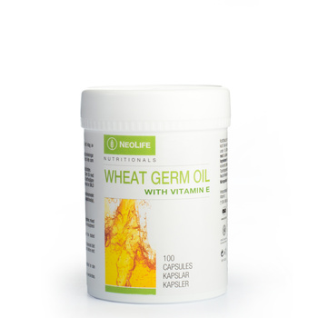 """Wheat Germ Oil with Vitamin E"", vitamino E maisto papildas"